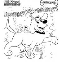 Clifford coloring pages
