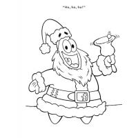 Patrick coloring pages