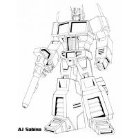 Transformers g1 coloring pages