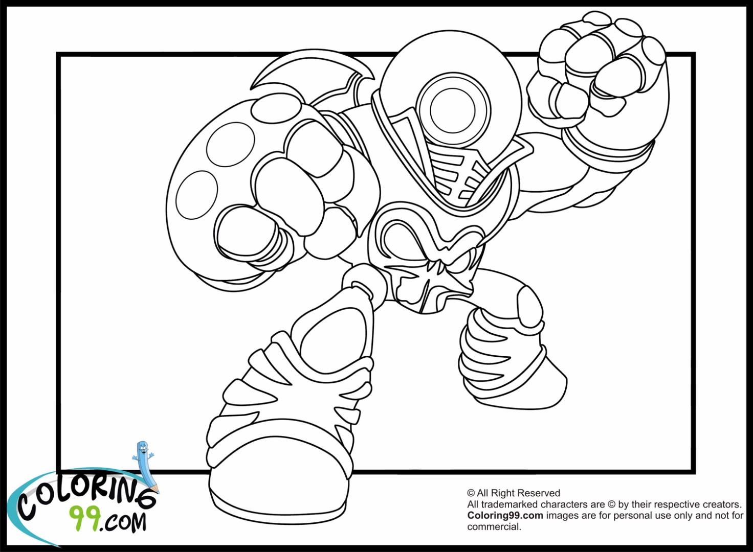 Skylander giant coloring pages - Coloriage eye brawl ...