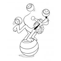Pluto coloring pages