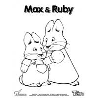 Max ruby coloring pages