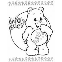 Care bear coloring pages