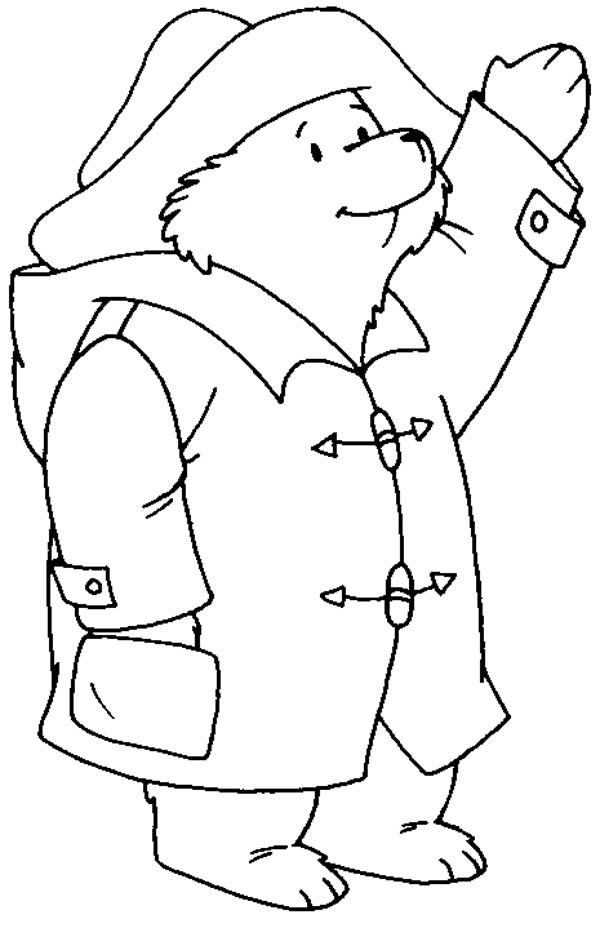 free coloring pages paddington bear movie | Paddington bear coloring pages
