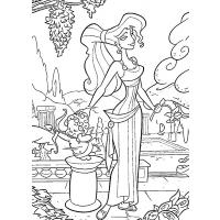 Hercules coloring pages