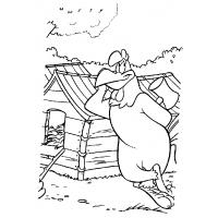 Foghorn leghorn coloring pages