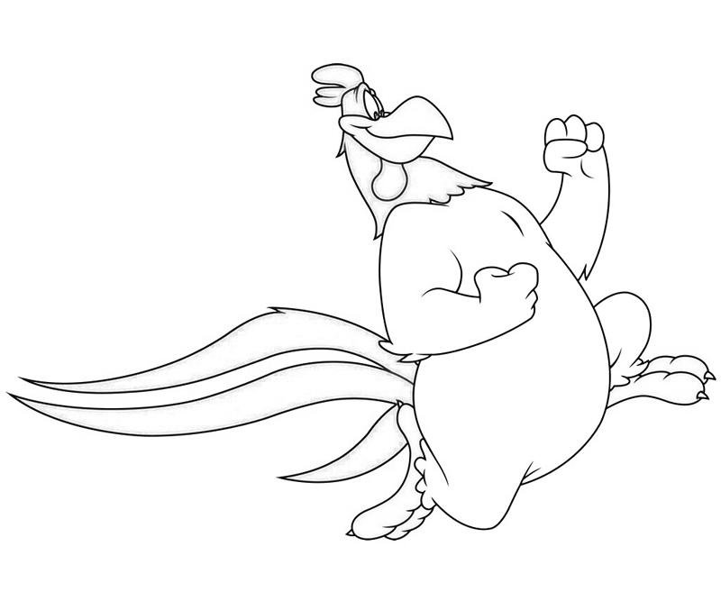 foghorn and leghorn coloring pages - photo#12