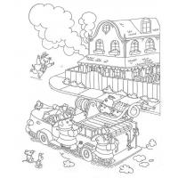 Richard Scarry Coloring Pages