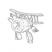 Super Wings coloring pages