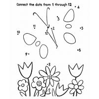 Dot to dot coloring pages