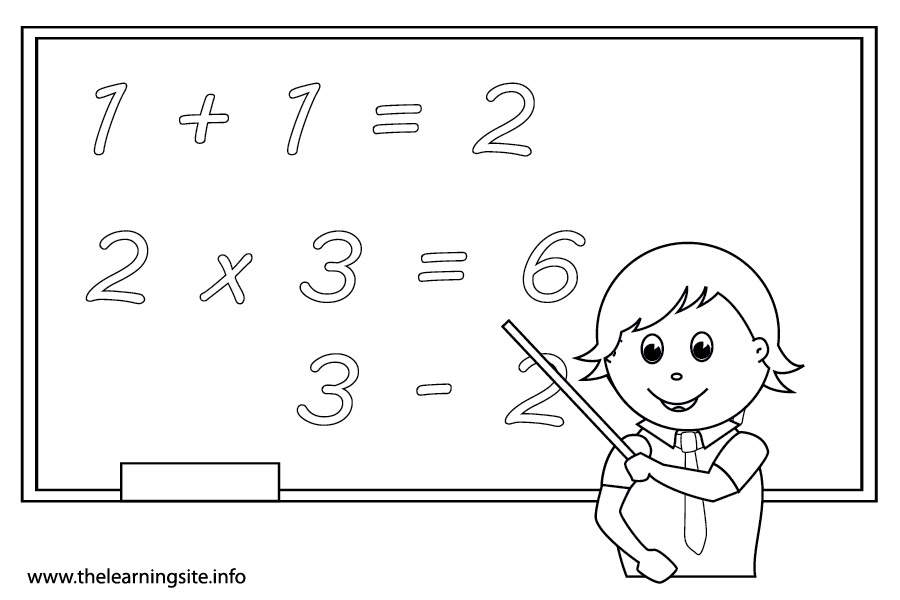 math pictures coloring pages - photo#17