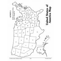 State map coloring pages
