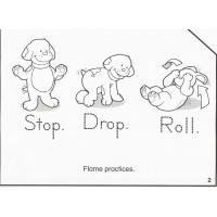 Fire prevention coloring pages