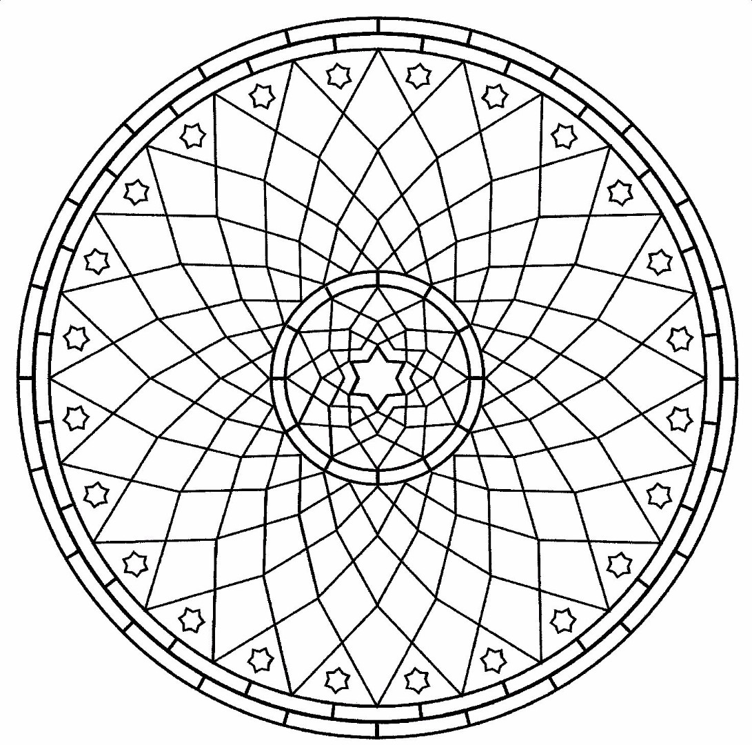 chakra mandala printable coloring pages - photo#36
