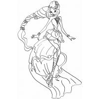 Winx Princess coloring pages