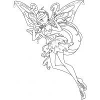 Winx Harmonix coloring pages