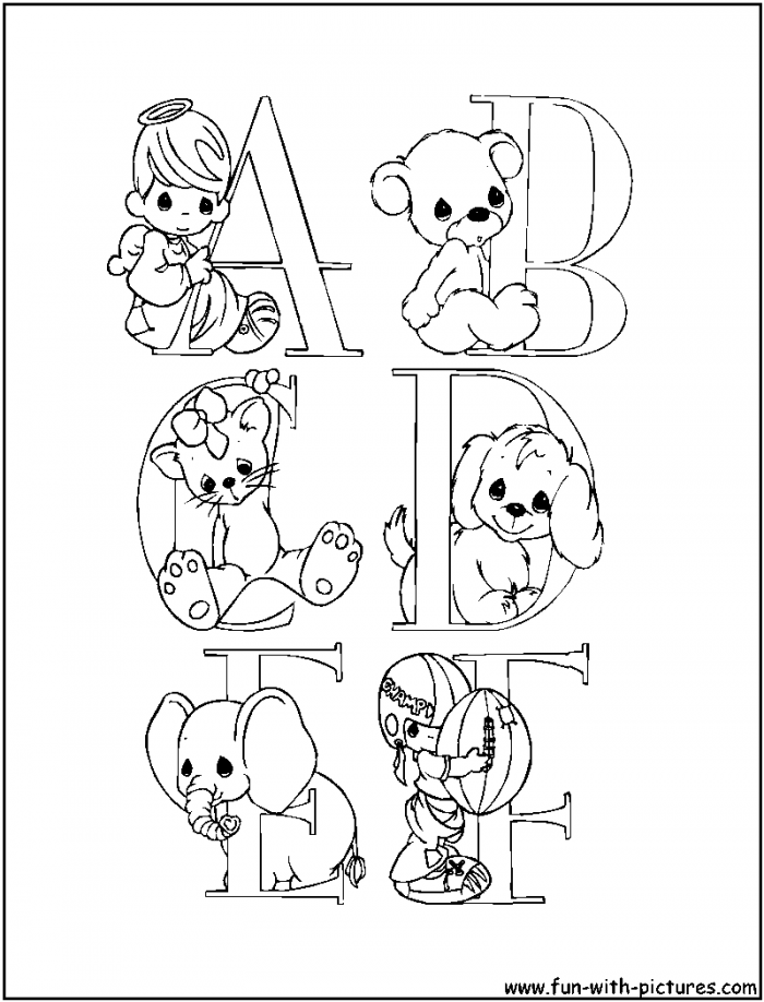 a z alphabet coloring pages
