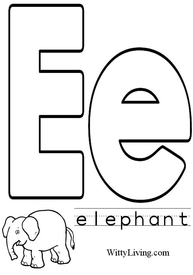 the letter e - 630×900