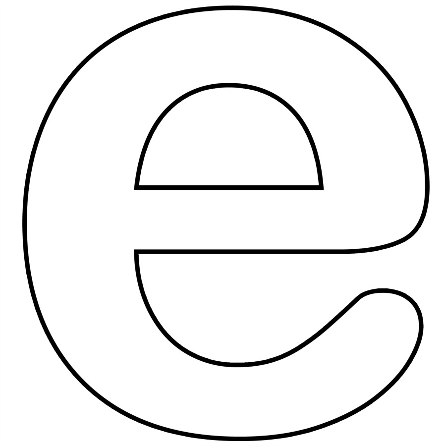 lowercase e coloring pages letter p clipart fancy fancy letter p clipart