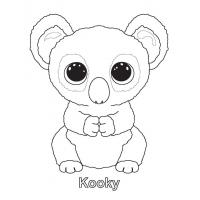 Ty beanie boo coloring pages