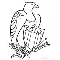 Eagle coloring pages