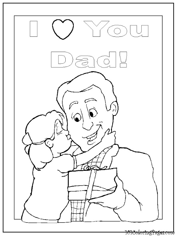 Happy Birthday Daddy Coloring Pages To Download And Print For Free