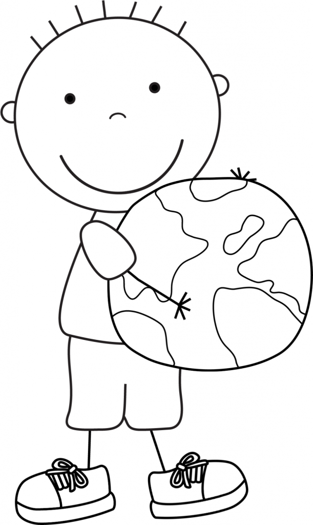 Kindergarten earth day coloring pages download and print for free