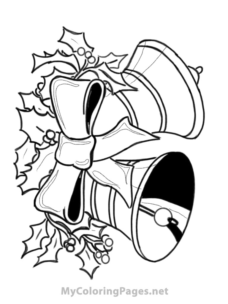 Christmas Bells Coloring Pages