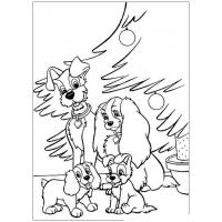 New year 2018 coloring pages