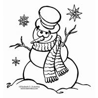 Holidays coloring pages