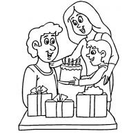 Father's Day coloring pages