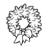 Wreath coloring pages
